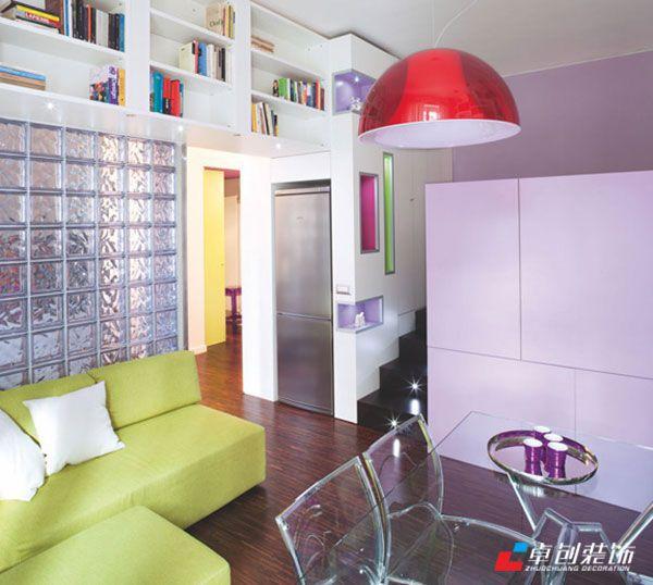 合肥裝修公司-小戶型如何節省空間 一屋臥室兼客廳-合肥卓創裝飾