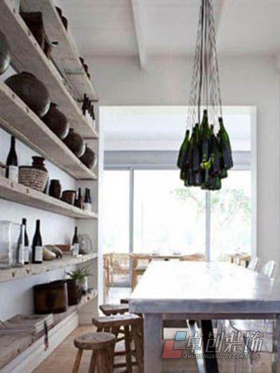 合肥装修公司卓创装饰单身公寓装修设计方案效果图